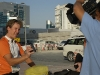 Dubai TV filming outside City Seasons Hotel 019